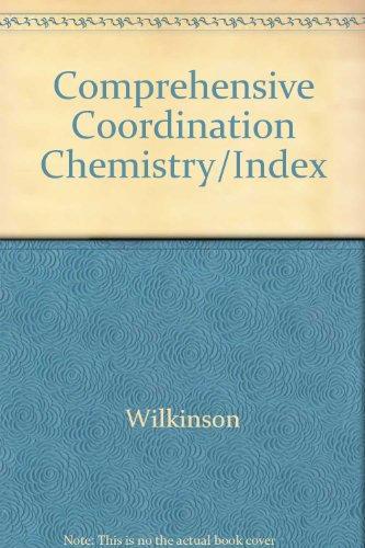 9780080359502: Comprehensive Coordination Chemistry/Index