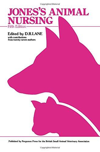 9780080361581: Jones' Animal Nursing