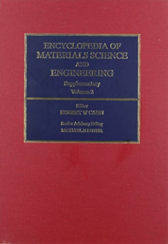 Encyclopedia of Materials Science and Engineering Supplementary,: n/a