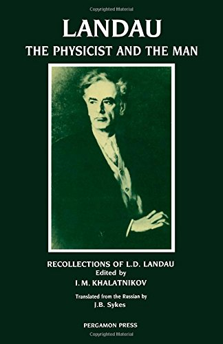 9780080363837: Landau: The Physicist and the Man - Recollections of L.D.Landau