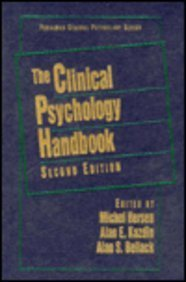 9780080364414: The Clinical Psychology Handbook (General Psychology)