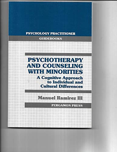 9780080364421: Psychotherapy and Counselling with Minorities: Cognitive Approach to Individual and Cultural Differences (Psychology Practitioner Guidebooks)