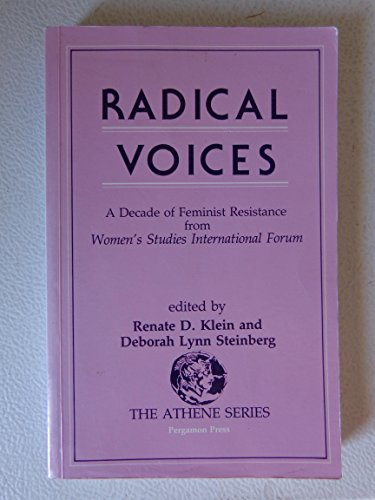 Radical Voices: Decade of Feminist Resistance from Women's Studies International Forum (Athene...