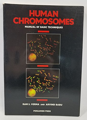 9780080368399: Human Chromosomes: A Manual of Basic Techniques