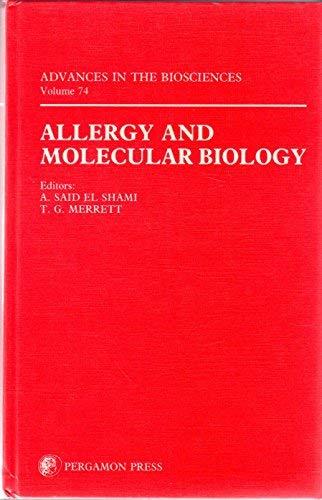 9780080368832: Allergy and Molecular Biology