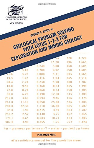 9780080369419: Geological Problem Solving with Lotus 1-2-3 for Exploration and Mining Geology