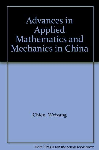 9780080369754: Advances in Applied Mathematics and Mechanics in China