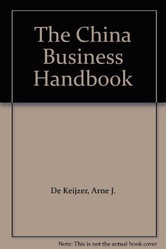 9780080371191: The China Business Handbook