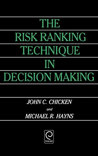 9780080372129: The Risk Ranking Technique in Decision Making (0)