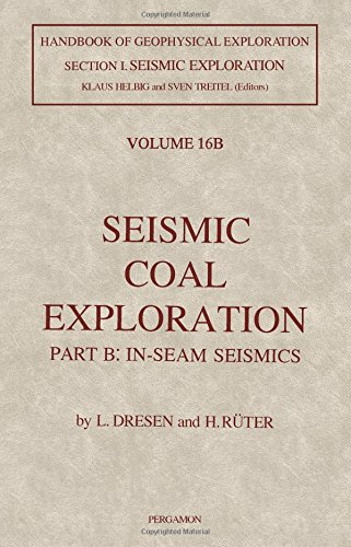 9780080372266: Seismic Coal Exploration Part B: In-Seam Seismics
