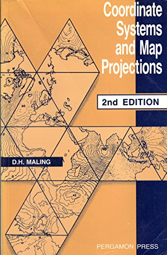 9780080372334: Coordinate Systems and Map Projections