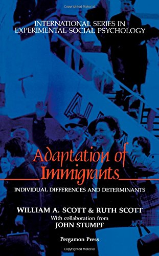 9780080372655: Adaptation of Immigrants: Individual Differences and Determinants (International Series in Experimental Social Psychology)