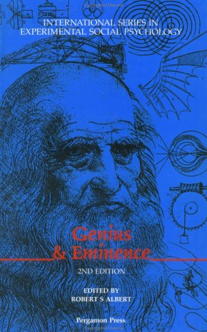 9780080377643: Genius and Eminence (International Series in Social Psychology)
