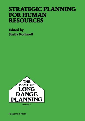 9780080377704: Strategic Planning for Human Resources: 6 (Best of Long Range Planning)