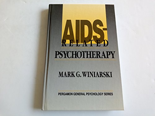9780080379135: AIDS-related Psychotherapy (Pergamon general psychology series)