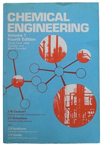 9780080379487: Chemical Engineering: Fluid Flow,Heat Transfer and Mass Transfer Vol 1 (Chemical Engineering Technical)
