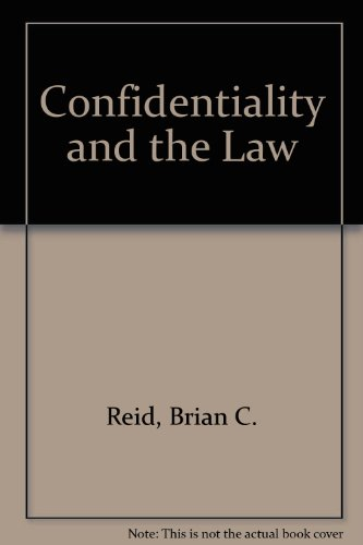 9780080392363: Confidentiality and the Law