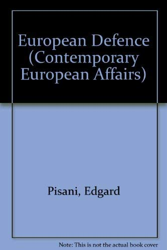 9780080402468: European Defence (Contemporary European Affairs)