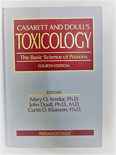 9780080402918: Toxicology: The Basic Science of Poisons