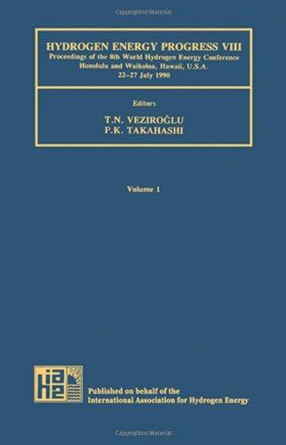9780080404080: Hydrogen Energy Progress VIII: Proceedings of the 8th World Hydrogen Energy Conference Honolulu and Waikoloa, Hawaii, U.S.A. 22-27 July 1990 (World ... Energy Conference//Hydrogen Energy Progress)