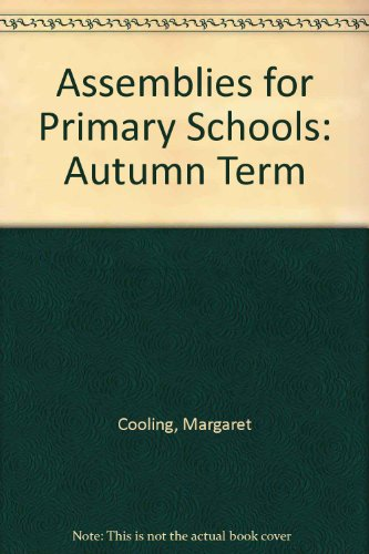 9780080404455: Assemblies for Primary Schools: Autumn Term