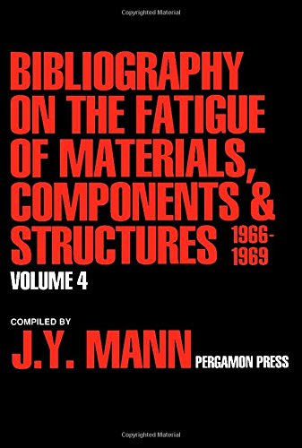9780080405070: Bibliography on the Fatigue of Materials, Components and Structures, 1966-1969