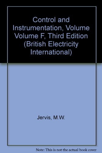 Modern Power Station Practice: Control and Instrumentation