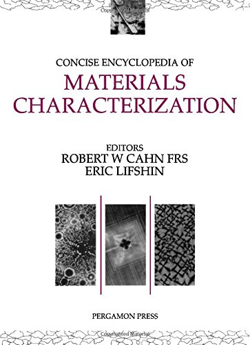 9780080406039: Concise Encyclopedia of Materials Characterization