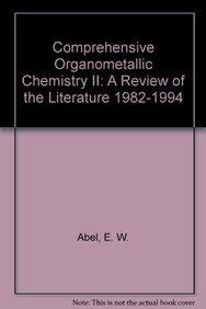 9780080406084: Comprehensive Organometallic Chemistry II