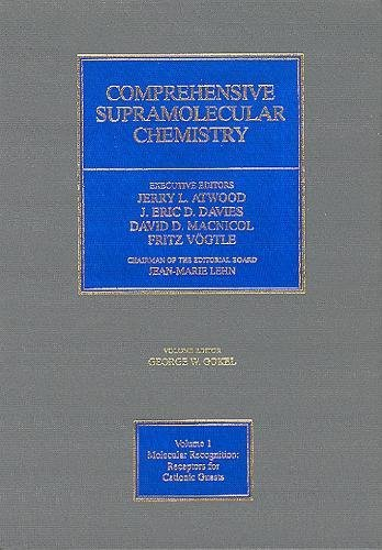 9780080406107: Comprehensive Supramolecular Chemistry