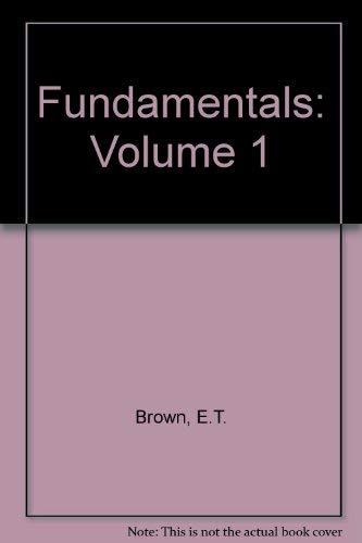 9780080406145: Comprehensive Rock Engineering: Principles, Practice & Projects, Fundamentals, Vol. 1