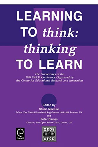 9780080406572: Learning to Think: Thinking to Learn (Economics)