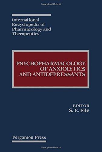9780080406985: Psychopharmacology of Anxiolytics and Antidepressants
