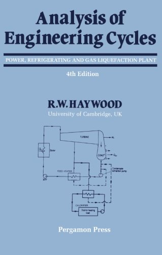 9780080407388: Analysis of Engineering Cycles: Power, Refrigerating, and Gas Liquefaction Plant