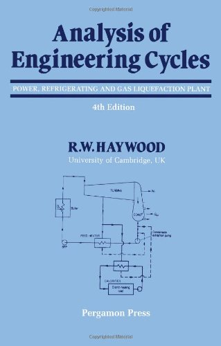 9780080407395: Analysis of Engineering Cycles: Power, Refrigerating and Gas Liquefaction Plant
