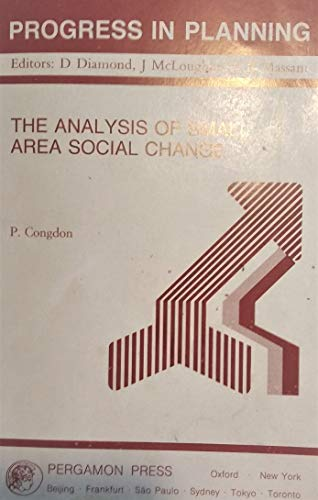 9780080407821: The Analysis of Small Area Social Change (Progress in Planning)