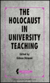 9780080407982: The Holocaust in University Teaching (Holocaust Series)