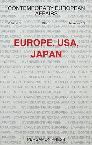 9780080408156: Europe, Usa, Japan (Contemporary European Affairs, Vol 3, No 1/2)