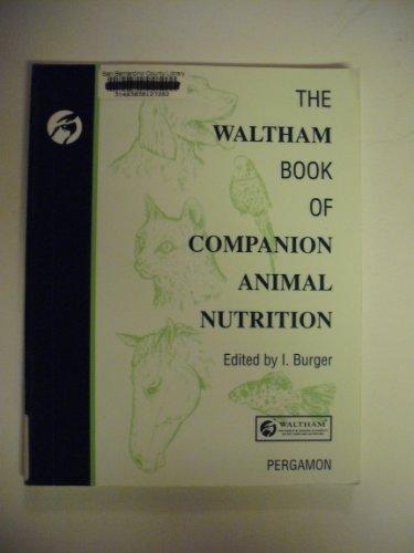 9780080408446: The Waltham Book of Companion Animal Nutrition