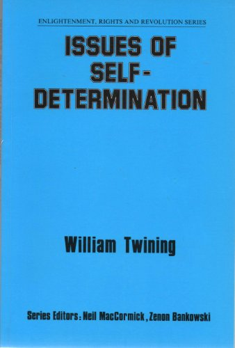 9780080409221: Issues of Self-Determination (Enlightenment, Rights and Revolution Series)