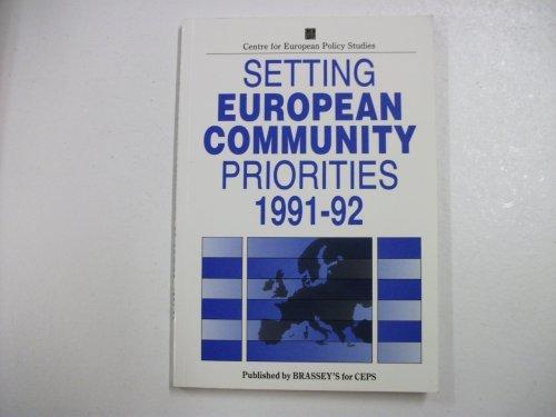 9780080409696: Setting European Community Priorities, 1991-92