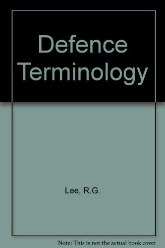 Defence Terminology: n/a