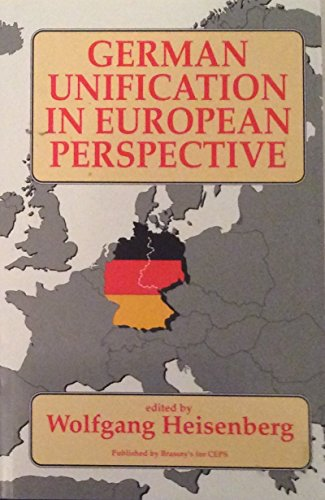 9780080413396: German Unification in European Perspective