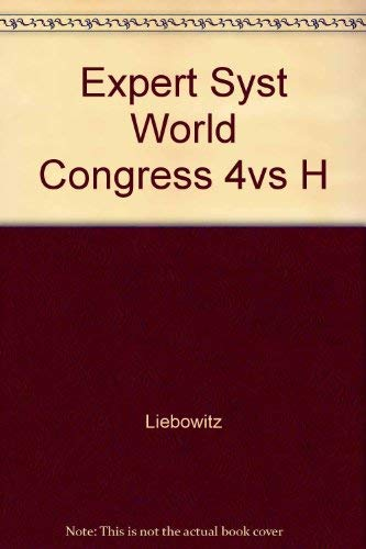 9780080414454: Expert Systems World Congress Proceedings: Orlando, Florida - December 16-19, 1991 (3 Volumes)
