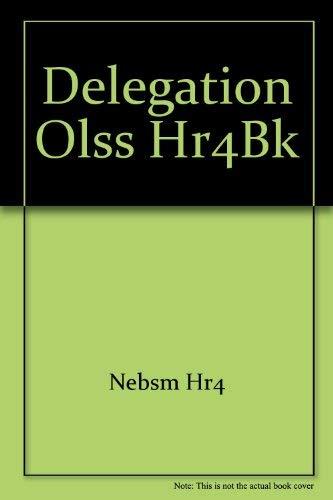 9780080415253: Delegation Olss Hr4bk