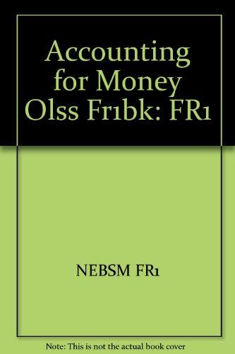 9780080416267: Accounting for Money Olss Fr1bk: FR1