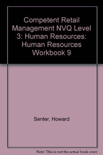 9780080418322: Competent Retail Management NVQ Level 3: Human Resources