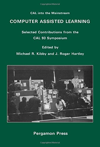 Computer Assisted Learning: Selected Contributions from the: Kibby, M.R., Hartley,