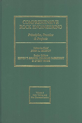 9780080420660: Comprehensive Rock Engineering: Vol 3: Principles, Practice & Projects
