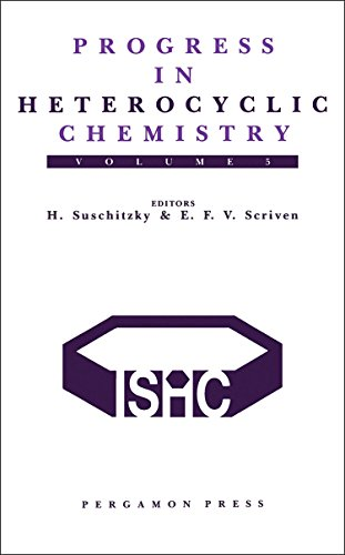 9780080420745: Progress in Heterocyclic Chemistry, Volume 5: A Critical Review of the 1992 Literature Preceded by Two Chapters on Current Heterocyclic Topics